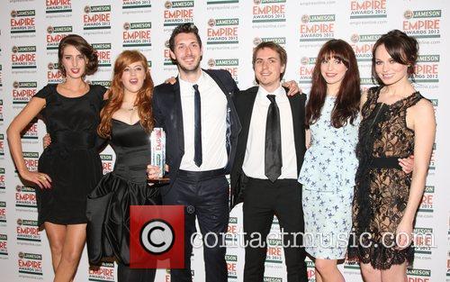 Lydia, Blake Harrison, Joe Thomas, Tamla Kari, The Inbetweeners and Grosvenor House