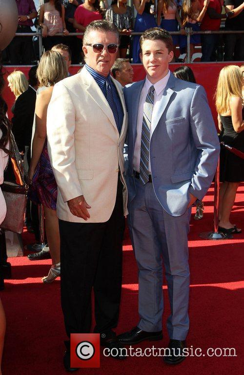 Alan Thicke and Drew Brees 4
