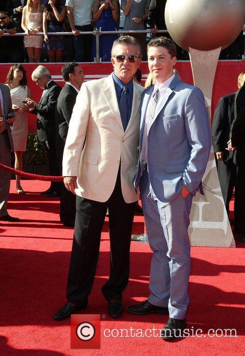 Alan Thicke and Drew Brees 5