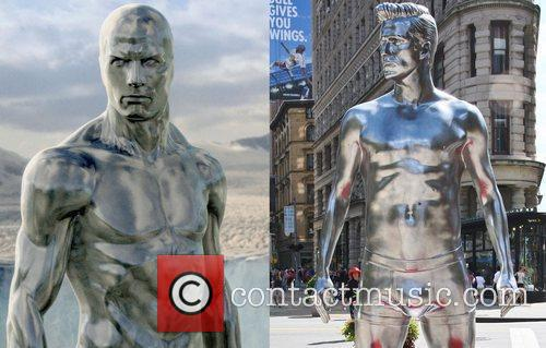 David Beckham, Fantastic Four and The Silver Surfer