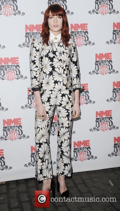 Florence Welch, Nme and Brixton Academy 4