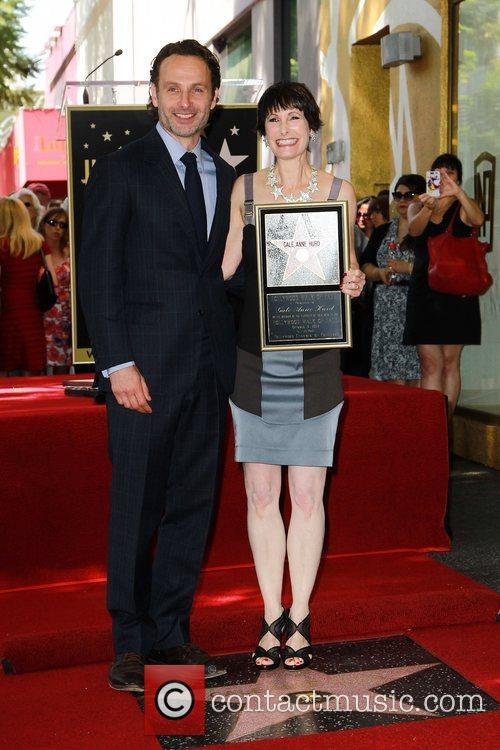 Andrew Lincoln and Gale Anne Hurd 3