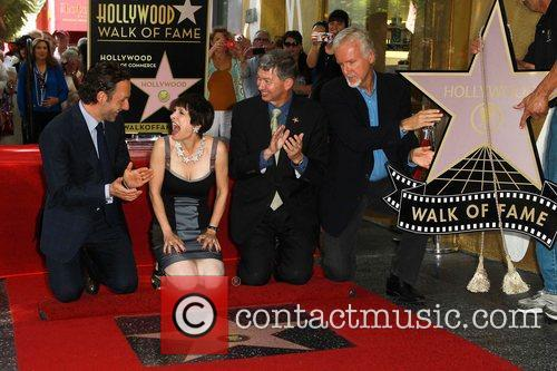 Andrew Lincoln, Gale Anne Hurd, Leron Gubler and James Cameron 2