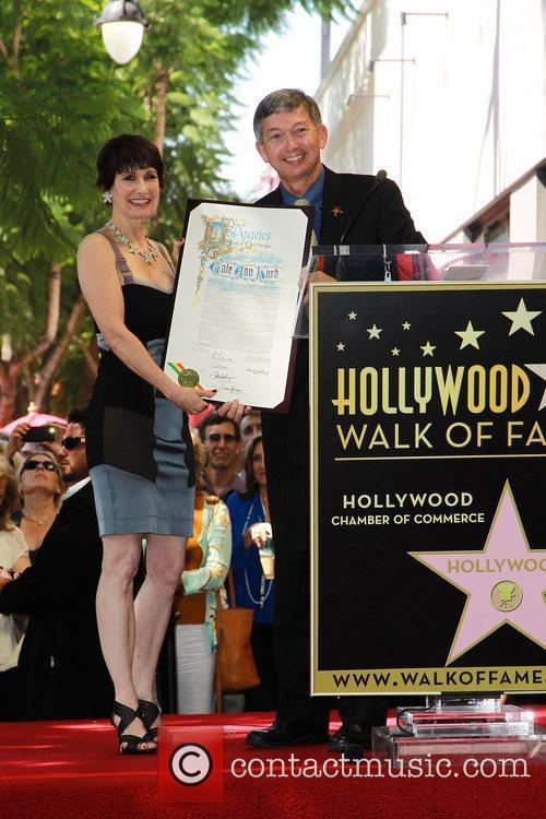 Leron Gubler, Gale Anne Hurd and Walk Of Fame 3
