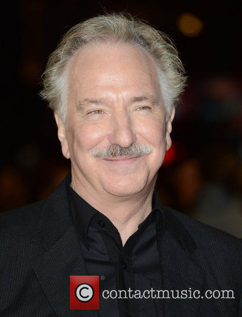 Alan Rickman, World Premiere, Gambit, The Empire, Leicester Square, London and England