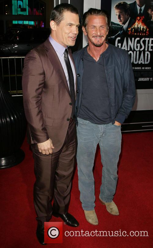 Josh Brolin, Sean Penn and Grauman's Chinese Theater 9