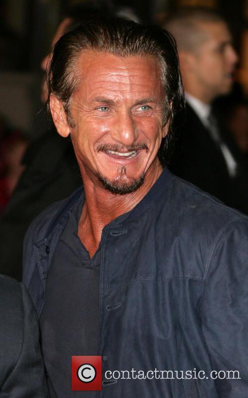 Sean Penn and Grauman's Chinese Theater 2