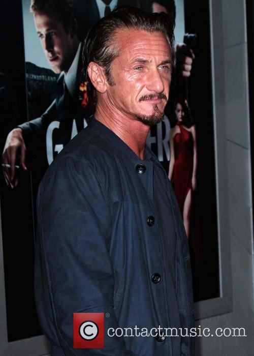 Sean Penn and Grauman's Chinese Theater 5