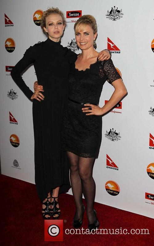 Radha Mitchell and Penelope Mitchell