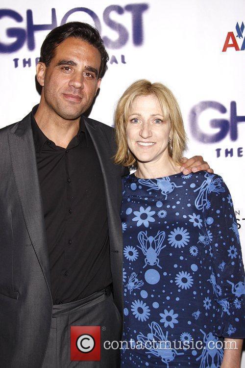 Bobby Cannavale, Edie Falco and Lunt-fontanne Theatre 3