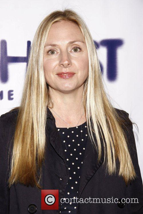 Hope Davis and Lunt-fontanne Theatre 7