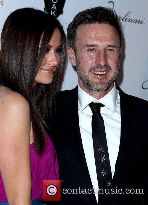 Christina Mclarty and David Arquette 2