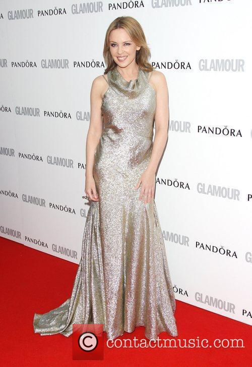 Kylie Minogue and Glamour Women Of The Year Awards