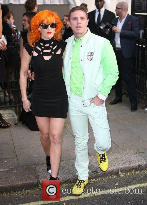 Jake Shears, Scissor Sisters and Glamour Women Of The Year Awards