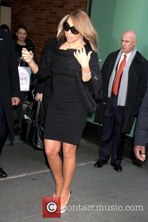 Mariah Carey and Abc Studios 4