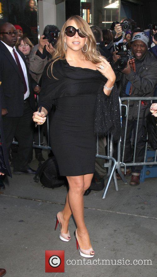 Mariah Carey and Abc Studios 5