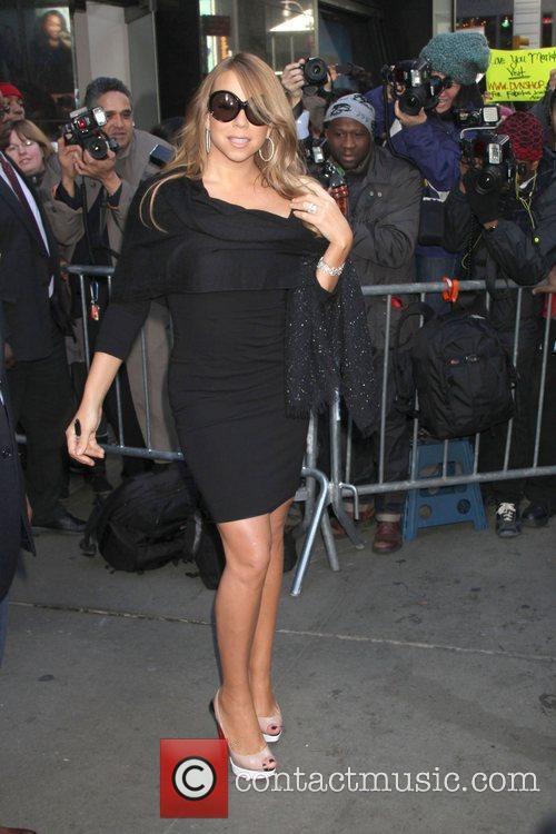 Mariah Carey and Abc Studios 9