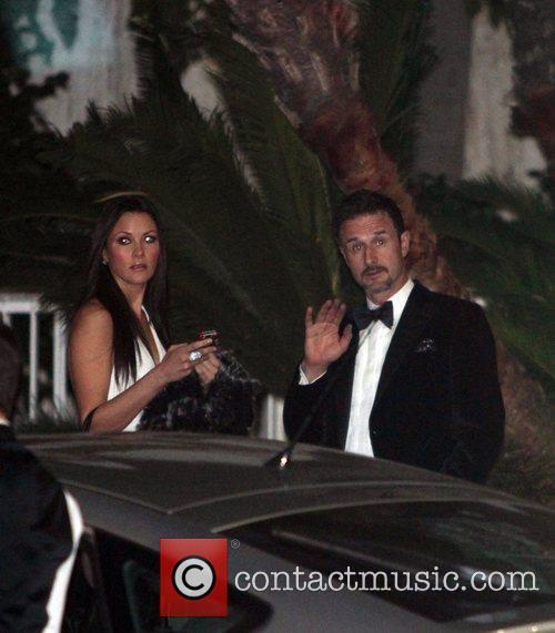 David Arquette, Christina Mclarty, Golden Globe Awards and Beverly Hilton Hotel