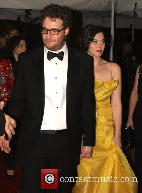 Seth Rogen, Golden Globe Awards and Beverly Hilton Hotel