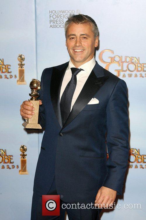 Matt Le Blanc, Golden Globe Awards and Beverly Hilton Hotel
