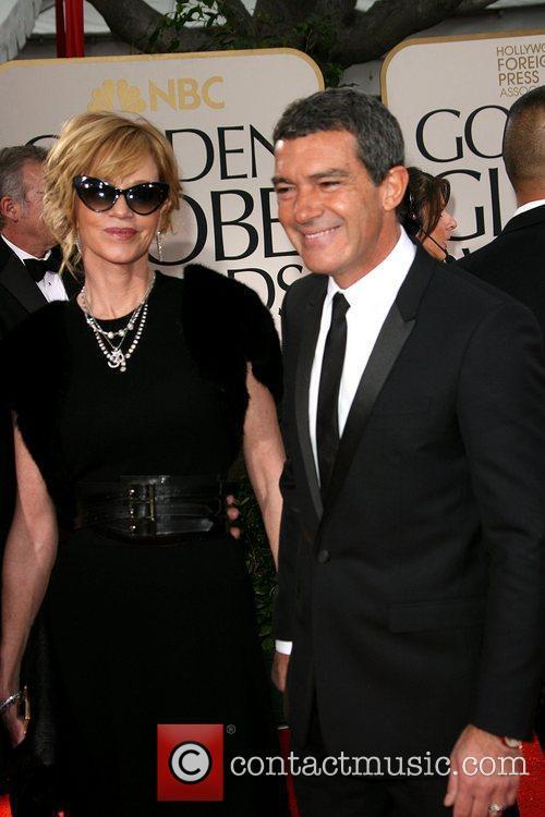 Melanie Griffith, Antonio Banderas, Golden Globe Awards and Beverly Hilton Hotel