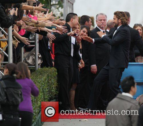 Gerard Butler and Beverly Hilton Hotel 1