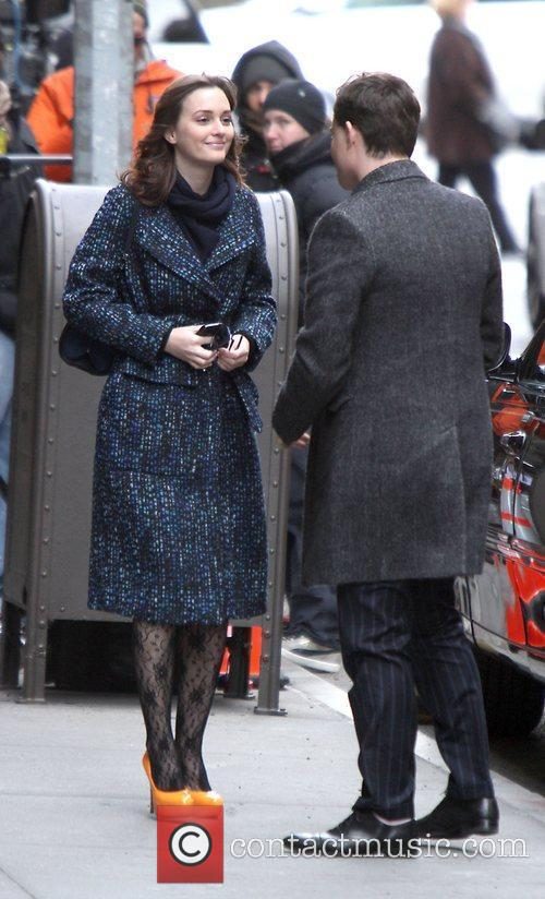 Ed Westwick and Leighton Meester 3