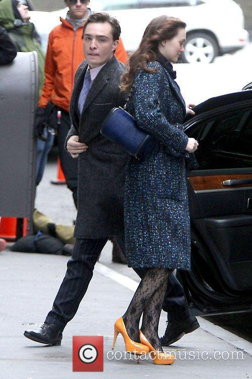 Ed Westwick and Leighton Meester 5