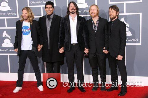 Taylor Hawkins, Dave Grohl, Foo Fighters and Grammy