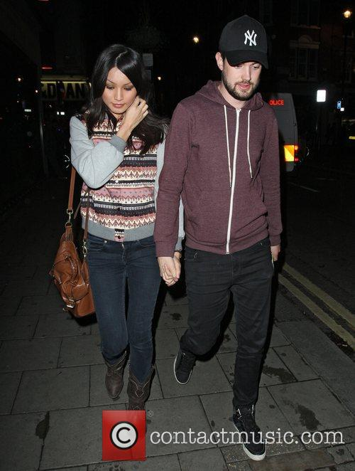 Jack Whitehall, Gemma Chan, Groucho, Soho and Groucho Club