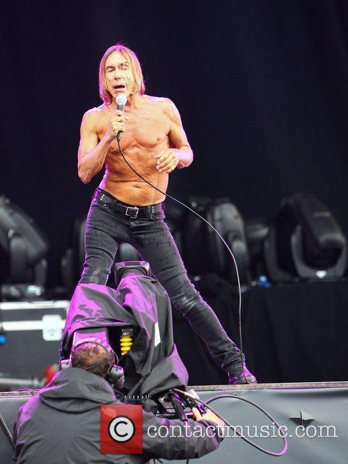 Iggy Pop and Hard Rock Calling