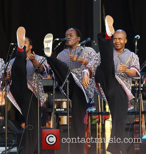 Ladysmith Black Mambazo and Hard Rock Calling