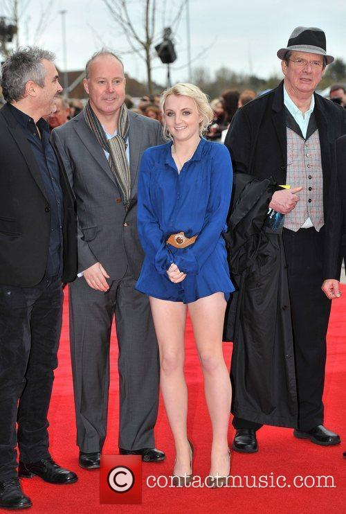 Alfonso Cuaron, David Yates, Evanna Lynch and Mike Newell