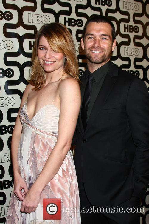 Ivana Milicevic, Antony Starr and Beverly Hilton Hotel
