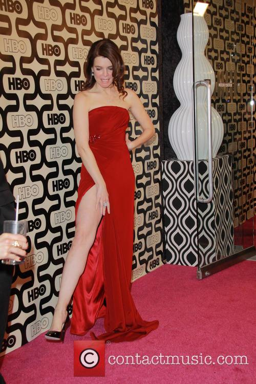 Betsy Brandt and Beverly Hilton Hotel 1