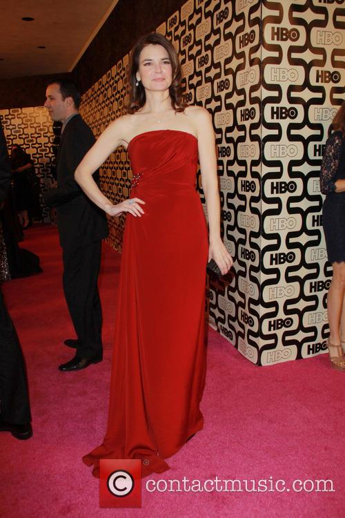 Betsy Brandt and Beverly Hilton Hotel 2