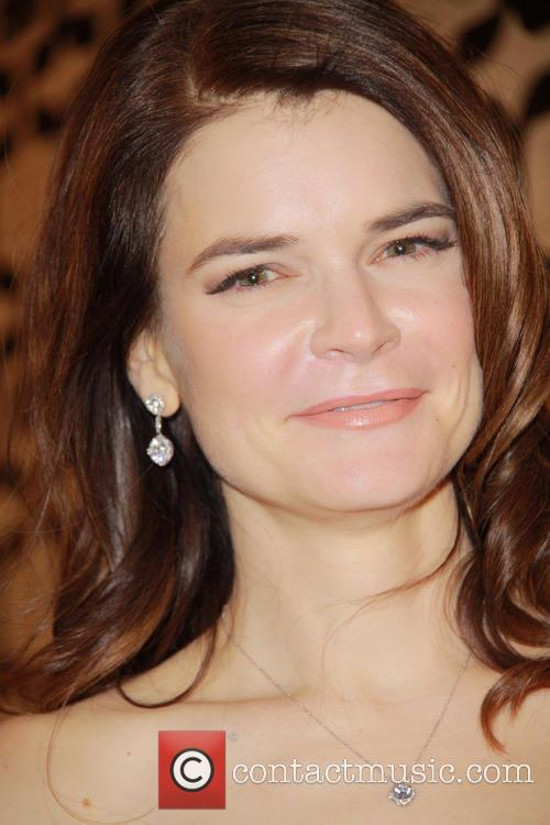 Betsy Brandt and Beverly Hilton Hotel 3