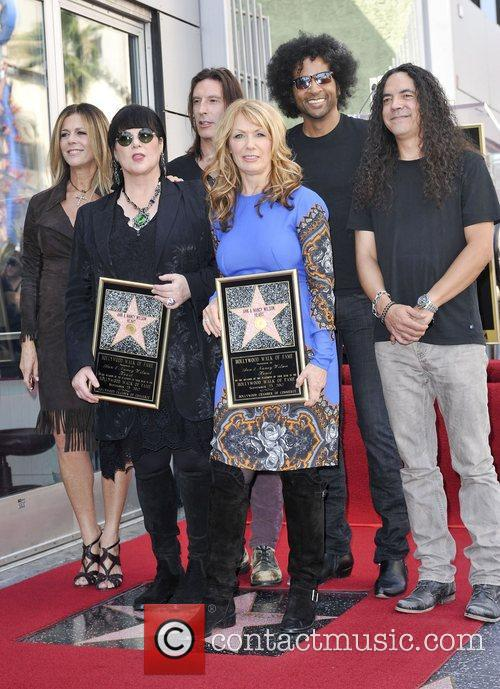 Ann Wilson, Nancy Wilson, Sean Kinney, Mike Inez, William Duvall, Alice and Chains
