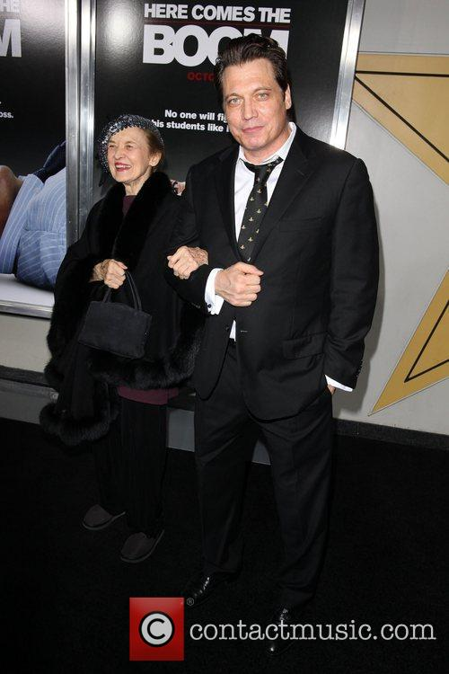 Holt Mccallany and Mother