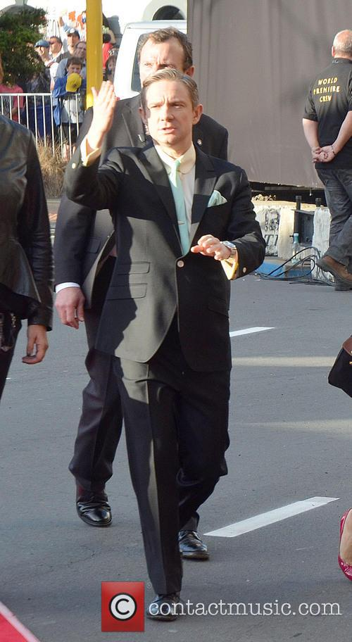 Martin Freeman, Hobbit Premiere, Embassy, Wellington and New Zealand 5