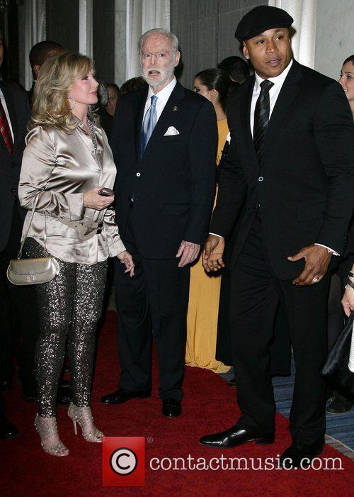 Cool J, Morgan Fairchild and Leonard Goldberg