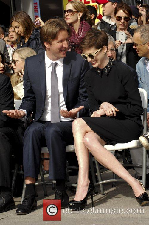 Tom Hopper and Anne Hathaway