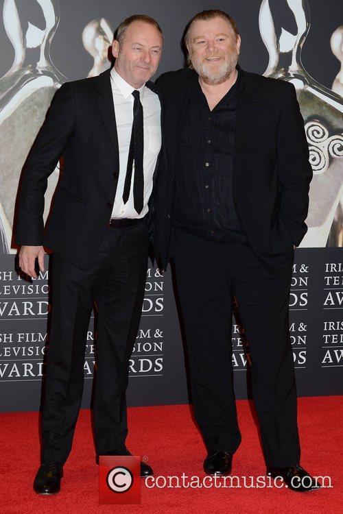 Liam Cunningham and Brendan Gleeson