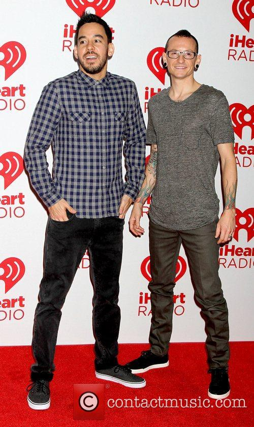 Mike Shinoda, Chester Bennington and Linkin Park 3