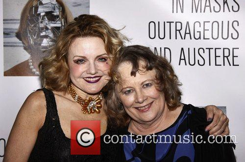 Alison Fraser and Shirley Knight Opening night party...
