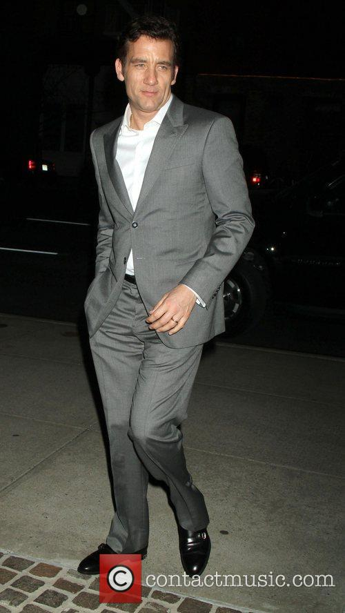 Clive Owen and Tribeca Grand Hotel 1
