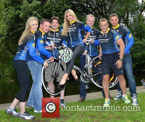 Keith Duffy, Brian Kennedy, Matt Cooper and Rosanna Davison