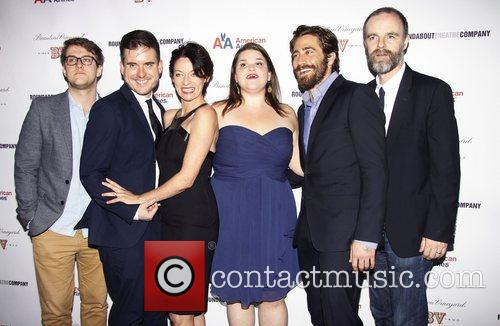 Nick Payne, Michael Longhurst, Michelle Gomez, Annie Funke, Jake Gyllenhaal, Brian F. O, Byrne Opening, Off-broadway, If There Is I, Haven, Found It Yet, Laura Pels Theatre. New and York City