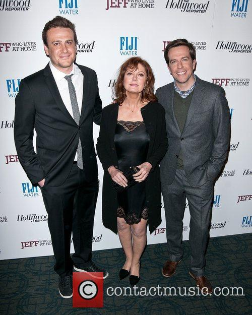 Jason Segel, Ed Helms and Susan Sarandon 2