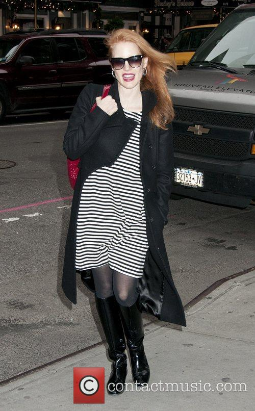 Jessica Chastain, The Heiress and Walter Kerr Theater 1